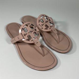 cf4a63a68fc Tory Burch. Tory Burch Miller Flip Flop Sandal Sea Shell Pink.  175  220